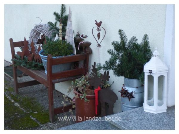 Gartendeko vor dem 1 advent villa landzauber for Gartendeko advent