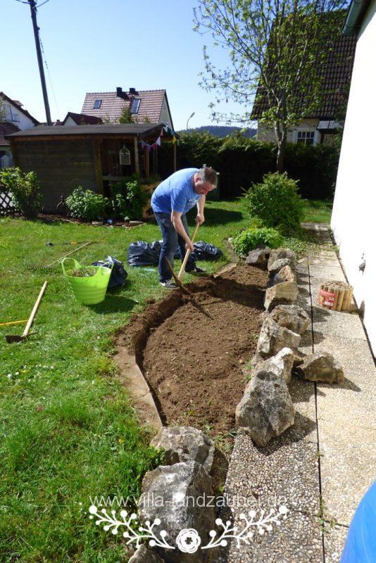 Im Garten Entsteht Eine Bienenweide Villa Landzauber